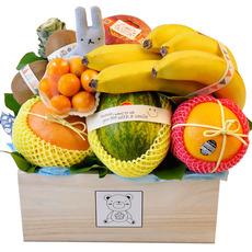 과일나무바구니- 파랑토끼