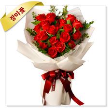 내사랑-하트장미꽃다발