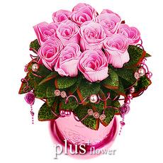 비누꽃-러브스토리(핑크)